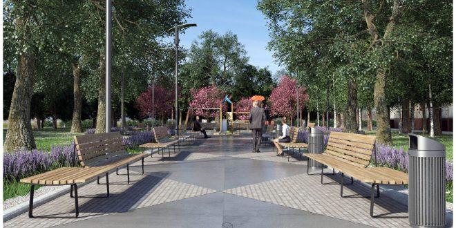 Погледнете го новиот предвиден урбан сквер во Нерези, Општина Карпош